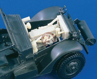 $36.95 • Buy Verlinden 1/35 US M3 Half-track Engine And Compartment WWII (for Tamiya) 1592
