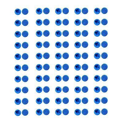 $ CDN15.22 • Buy New Lot 100 Rubber Blue Mouse Pointer Trackpoint Cap For HP Compaq Laptop