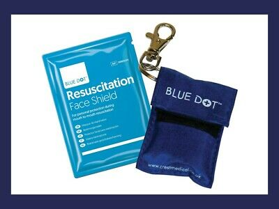 £2.75 • Buy CPR Resuscitation Face Shield Key Ring With Filter