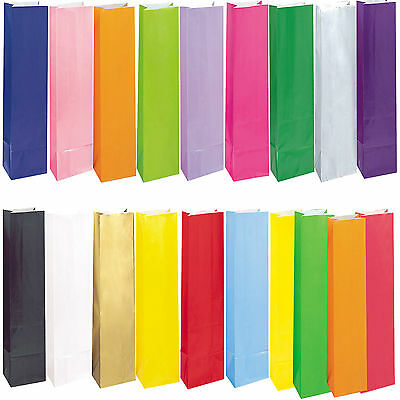 Paper Party Loot Treat Gift Bags 20 Colours Availble      • 1.95£