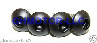 $59.99 • Buy 04 05 Zx10r Zx-10 Zx10r Complete Flat Matte Black Fairing Bolts Screws Kit Usa