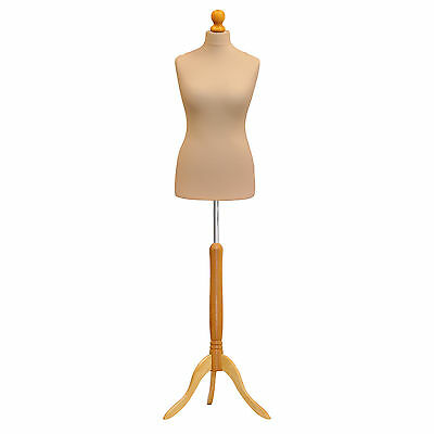 Tailors Dummy Bust Female UK 16/18 Dressmakers Student Sewing Mannequin Display • 28.89£