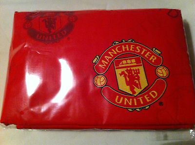 £19.99 • Buy Manchester United Red Cot Bed Quilt Cover And 1 Pillowcase Brand New