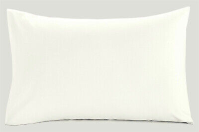 Extra Long Pillow Case 6 Foot 20  X 72  50cm X 180cm Bolster Case Cream • 5.95£