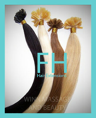 $39.99 • Buy Human_remy_hair_extensions_ Keratin_# 30 Straight_100 Strands_1_gr_free_shipping