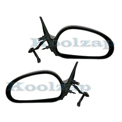 $63.95 • Buy 99-04 Mustang Convertible & Coupe Rear View Mirror Power Textured Black PAIR SET