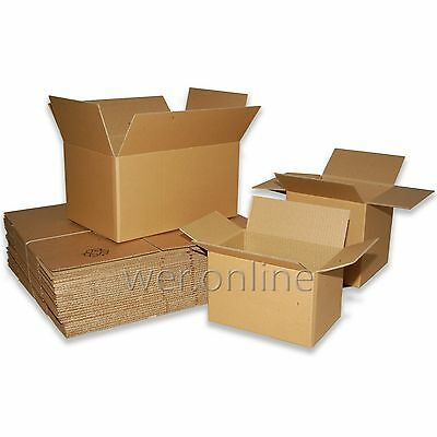 Postal Packing Cardboard Boxes *Multi Listing* Mailing Packaging Cartons • 17.49£