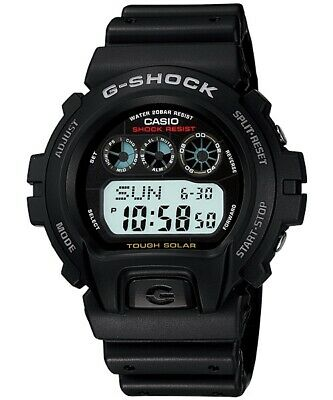 AU117.90 • Buy Casio G-Shock Digital Mens Black Tough Solar Watch G6900-1 G-6900-1DR