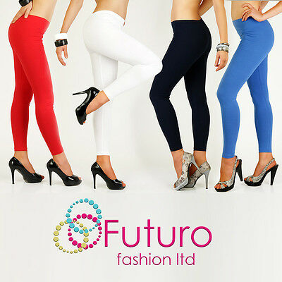 £5.49 • Buy Full Length Warm Thick Cotton Leggings Winter Style All Sizes 8 - 22 P28