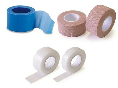 Clear Silk Fabric Blue Detectable Zinc Oxide Microporous Elastic Tape First Aid  • 3.50£