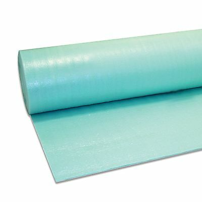 15m2 - 3mm Green Underlay - Vapour Barrier Membrane - Wood Or Laminate • 18.50£