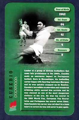 Top Trumps-football Legends 1-2005-portugal-eusebio • 2.50£
