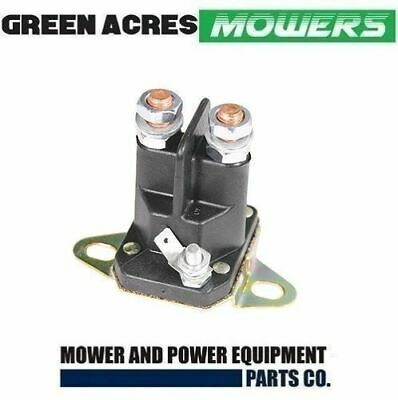 AU20.50 • Buy Ride On Mower Starter Solenoid Universal 3 Terminal 12 Volt Bottom Mount