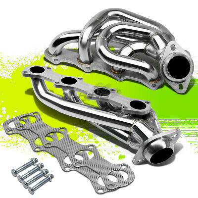 $115 • Buy Stainless Steel Manifold Header/exhaust 97-03 Ford F150 F250 Expedition V8 5.4l