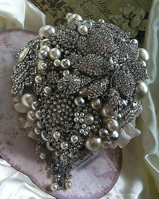 Bespoke Handmade Vintage Brooch Bouquet's As Seen On Dont Tell The Bride! • 250£