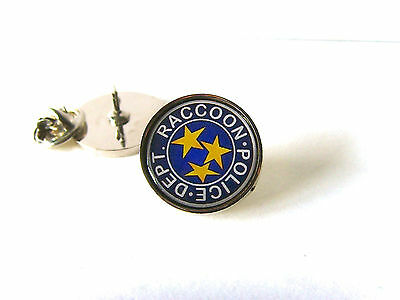 £4.15 • Buy Resident Evil Stars S.t.a.r.s. Raccoon Police Lapel Pin Badge Tie Pin Tack Gift