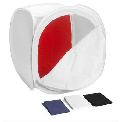 Studio Cube Box Tent Light Product Photography Collapsible Diffusion 75cm • 32.99£