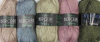 BERGERE DE FRANCE CABOURG YARN - VARIOUS SHADES - 50g BALLS • 2.85£