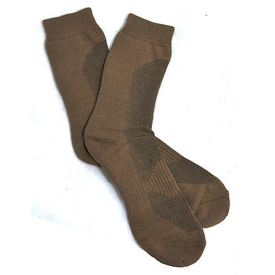 Coyote CoolMax Socks - Winter Thick Hiking Walking Military Foot Thermal New • 8.25£