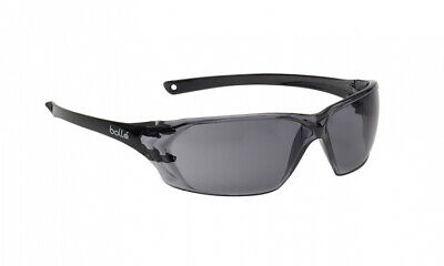 £7.95 • Buy Bolle Prism PRIPSF Safety Glasses Anti Mist Fog & Scratch + Free Cord - Smoke