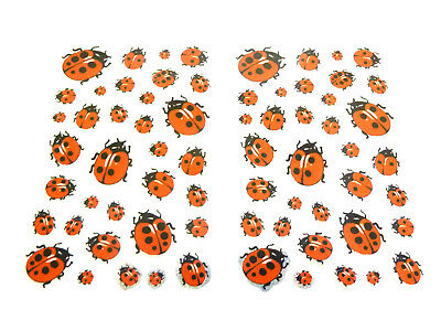 Ladybird Stickers For Kids, Children LS05 Fun Labels For Party Bags, Decoration • 2.50£