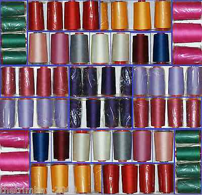 £5.55 • Buy Overlocking Sewing Machine Polyester Thread Five Thousand Yard Cone