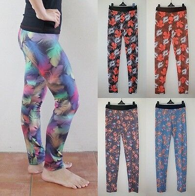 AU14.95 • Buy Women Leggings Ladies Sexy Long Pants Casual Yoga Pilates Exercise Sportswear