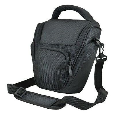 AA7 Black DSLR Camera Case Bag For Olympus E3 E5 E30 E620 E520 E500 E450 E400 • 13.90£