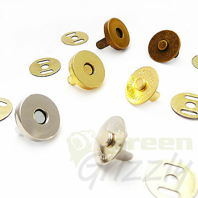 18 Mm Magnetic Snaps Fasteners - A6S • 4.49£