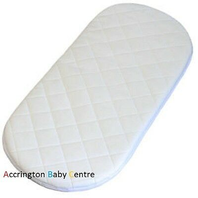 £15.89 • Buy Quilted Breathable Pram Mattress Fits Mamas & Papas Sola Carrycot Pram