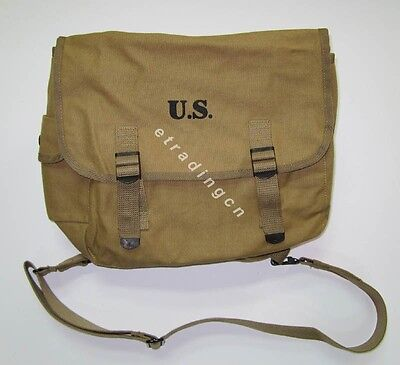 $25 • Buy New WWII US Army M1936 M36 Musette Field Bag Backpack Haversack Travelling Bag