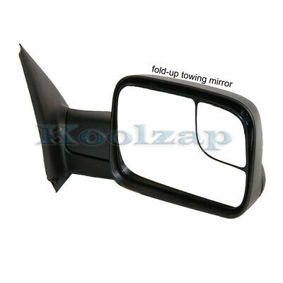 $111.95 • Buy 02-08 Ram 1500/03-09 2500 3500 Truck Power Heated Towing Mirror Black Right Side