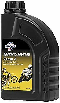 Silkolene Comp 2 Off Road 2T 2 Stroke Motorcycle Engine Oil 1 Litre 1L • 12.95£