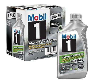 AU81 • Buy 5.676 Liter 6xQT Mobil 1 Fully Synthetic Engine Oil 0W30