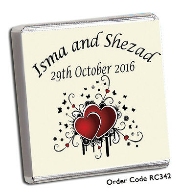 £8.99 • Buy 50 Personalised Wedding Favours -the Biggest And Best On Ebay *** Free P+p
