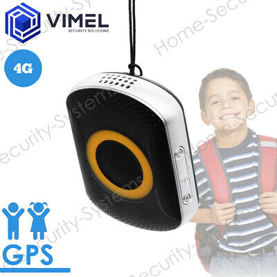 AU184.99 • Buy 4G Real Time Portable GPS Tracker For Kids Elderly Waterproof SOS Button