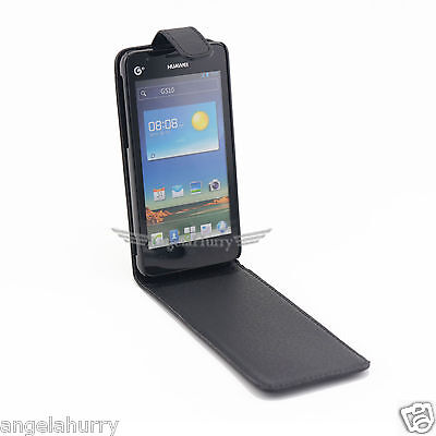 AU4.92 • Buy Premium Flip Leather Case Cover For Huawei Ascend G510