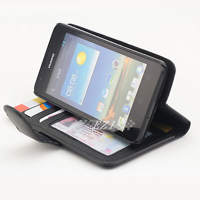 AU6.96 • Buy Durable Credit Wallet Leather Case Cover For Huawei Ascend G510
