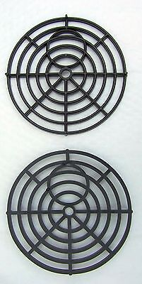 £4.99 • Buy Black Round 7  175mm Heavy Duty Plastic Drain Grate Gully Grid Cover Covers