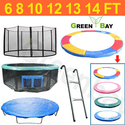 Trampoline Replacement Pad Padding Safety Net Cover Ladder Skirt 6 8 10 12 14ft • 35.95£