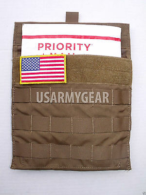 $7.11 • Buy USMC Army Coyote Side Plate Carrier Pocket Utility Molle Admin Armor Pouch USGI