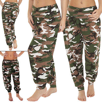 £11.99 • Buy Womens Camo Print Joggers Trousers Ladies Tracksuit Bottoms Jogging Gym Pants UK