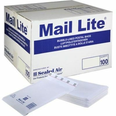 £23.63 • Buy Mail Lite Padded Bags Envelopes 'all Sizes' All Courier - White Cheap
