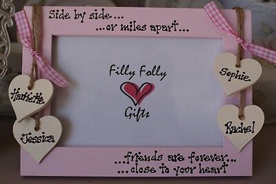 £13.95 • Buy Personalised Photo Frame! Best Friends Gift!