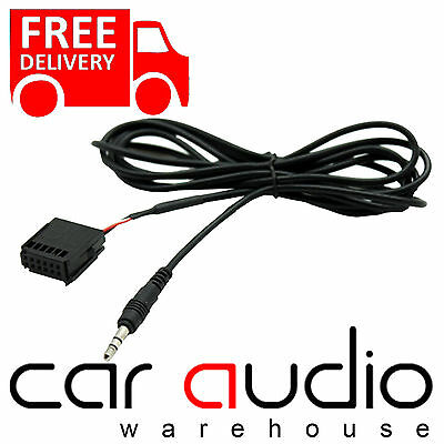 FORD Focus Mk2 2005 On 6000 CD Car MP3 IPod IPhone Aux In Input Cable Adaptor • 6.45£