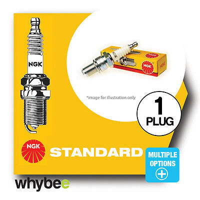 NEW! NGK STANDARD SPARK PLUGS [B CODES] For MOTORBIKES MOTORCYCLES SCOOTER ATV • 5.33£
