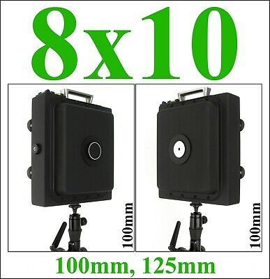 £100.68 • Buy 8x10 Large Format Pinhole Camera With 100mm, 125mm Or 150mm Focal Length.