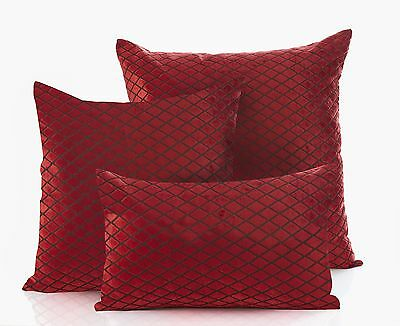 Savoy Jacquard Cushion Covers In 6 Stunning Colours & 3 Sizes Lovely Quality • 4.70£