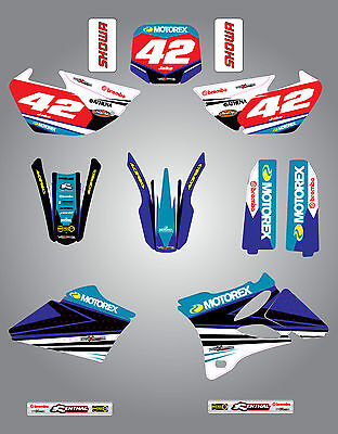 AU179.90 • Buy Yamaha YZ 85 2002 - 2014  Full  Custom Graphic  Kit - Strike Style / Stickers