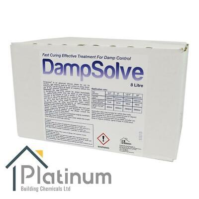 £82.50 • Buy DAMPSOLVE Damp Proof Injection Cream 8 Litre Bag (In A Box) DPC Course Treatment